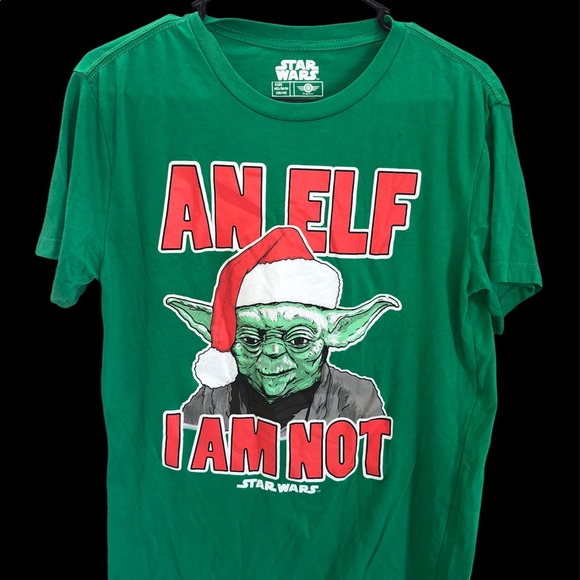 Star Wars Yoda Christmas Tee